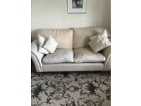 For sale a Laura Ashley made to measure cream 3 piece suite. Great condition