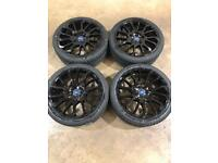 """Brand new set of 20"""" alloy wheels and tyres Ford Transit Custom"""