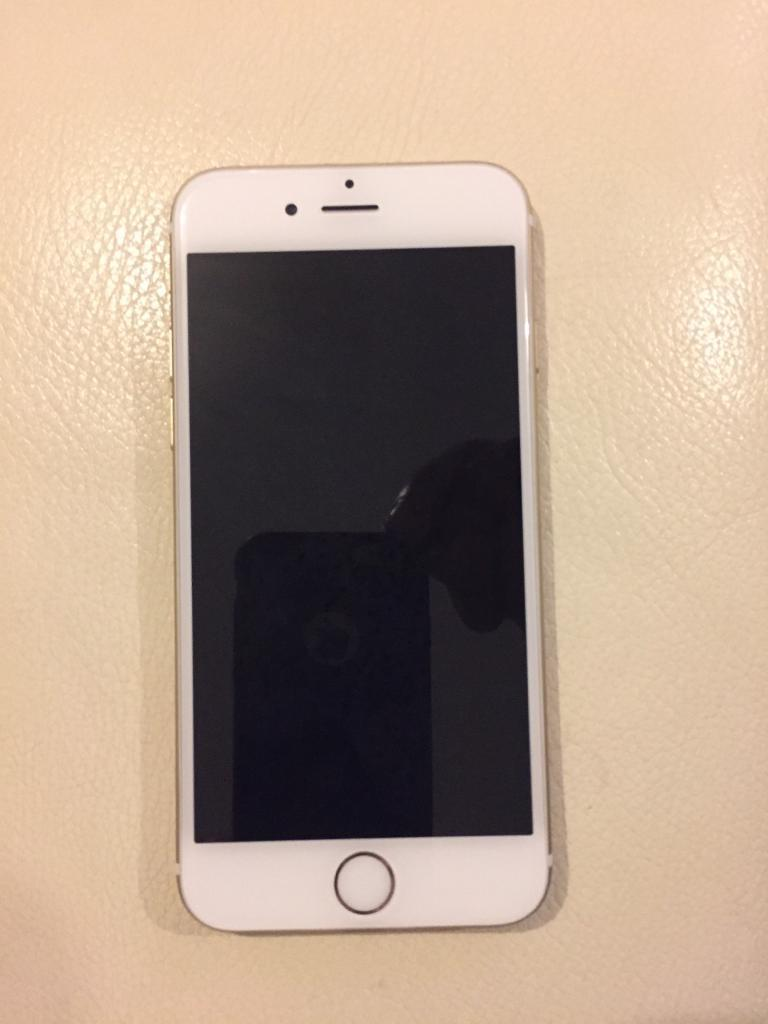 iPhone 6 16gb Gold (<1 month old)