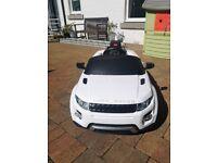 Officially Licensed Land Rover Range Rover Evoque 12V car