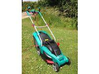 Bosch Rotak Ergoflex 37 electric lawnmower