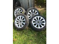 Vauxhall Insignia wheels and tyres