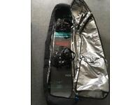 Snowboard, boot, bindings and bag for sale!