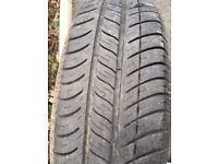 Mini 15 inch steel set of 4 wheels with full set of excellent Michelin Tyres