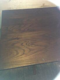 4 wooden tables solid wood