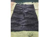 Black rug for sale