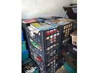 USED BOOK BULK PALLET JOB LOT NON-FICTION/FICTION/CHILDREN'S/DECORATION