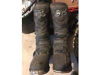 Fox f3 motocross boots size 9