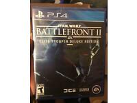 Star Wars Battlefront II Deluxe Edition PS4!