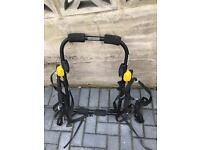 Bike rack fits upto 3 bikes, 45kg max weight only £25