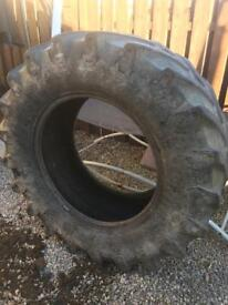 Large tractor tyres x2