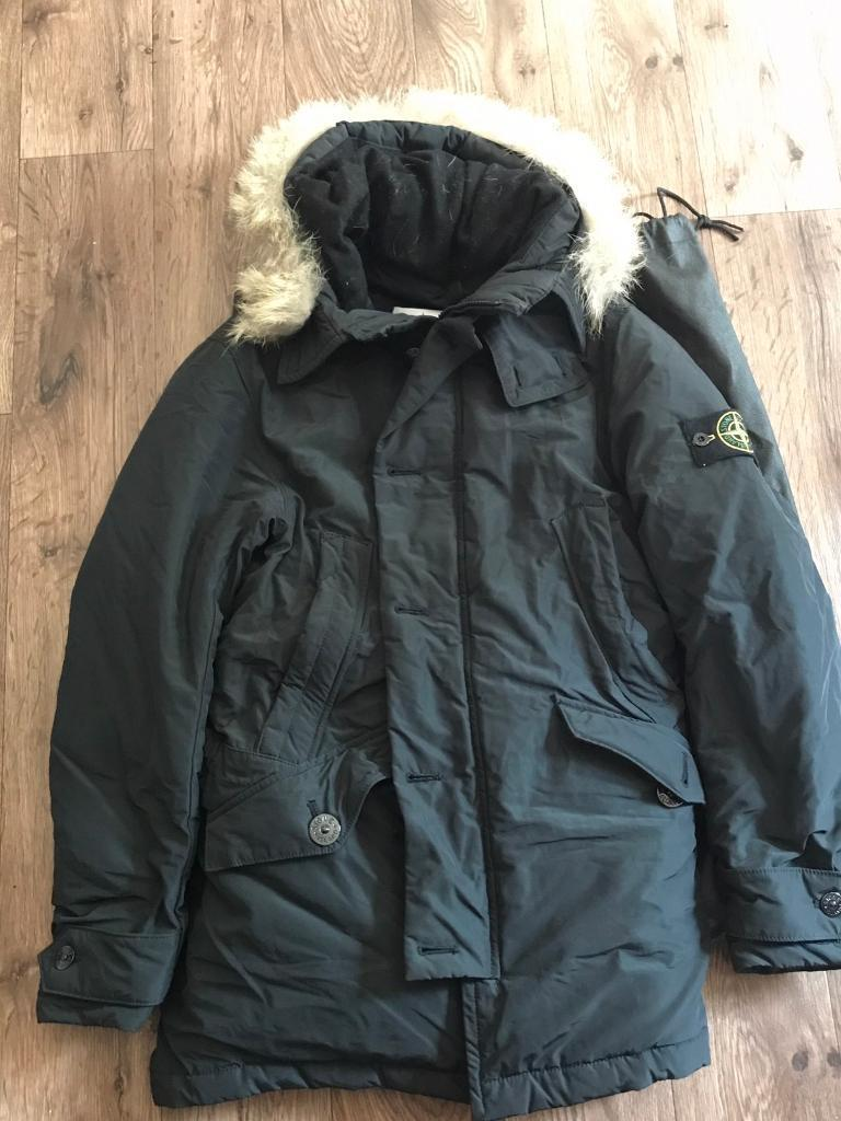 Stone Island Micro Reps Down Jacket/ Coat Size S As New with receiptin Brighton, East SussexGumtree - Only selling this amazing coat as it doesnt fit properly and time has passed to return. Have receipt and proof of authenticity so no time wasters please, cash on collection or can post recorded delivery if paying with PayPal or bank transfer. Rrp on...