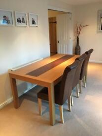 John Lewis Dining Table, sideboard, coffee table and 2 x side table set
