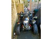 100cc race quad quadzilla pro shark 100mx