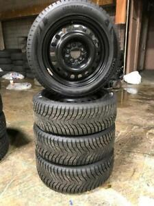 225 55R 17 KUHMO WINTERCRAFT ICE Wi31 WINTER SNOW TIRES & RIMS 5X114.3 BOLT MAZDA HYUNDAI INFINITI HONDA NISSAN 11/32NDS