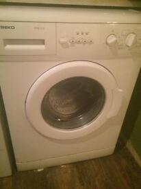 For sale a 6 kg washing machine