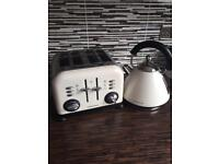 Morphy Richards Kettle and 4 Slice Toaster Accent Set