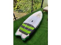 SUP hydrofoil board and bag for surf and wing foil