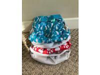 Washable reusable cloth nappy wraps tots bots