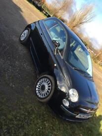 XXLOOK VERY COOL TOP OF THE RANGE FIAT 500 lounge 2009 only £2550