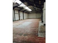 4700 sqft industrial unit workshop with small yard suitable for Temporary Use including Motor Trade.