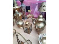 Antique brass job lot