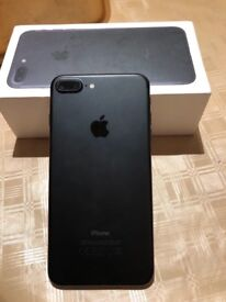 Apples IPhone 7 Plus 32gb unlocked with receipt