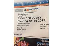 Dancing on ice tickets, Nottingham