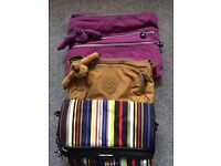 Kipling Bags excellent condition lots of pockets and safety pockets.proce per bag.