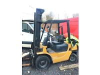 Caterpillar forklift, gas