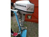 Honda 4 stroke 5hp outboard engine