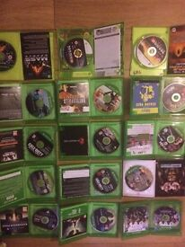 12 xbox one games great cond