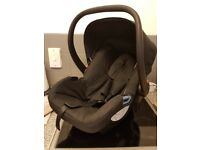 Black car seat from newborn