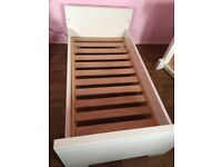 White High gloss cot beds