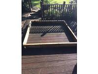 Raised Bed Timber Frame - unused