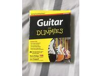 Guitar for dummies (tuition book)