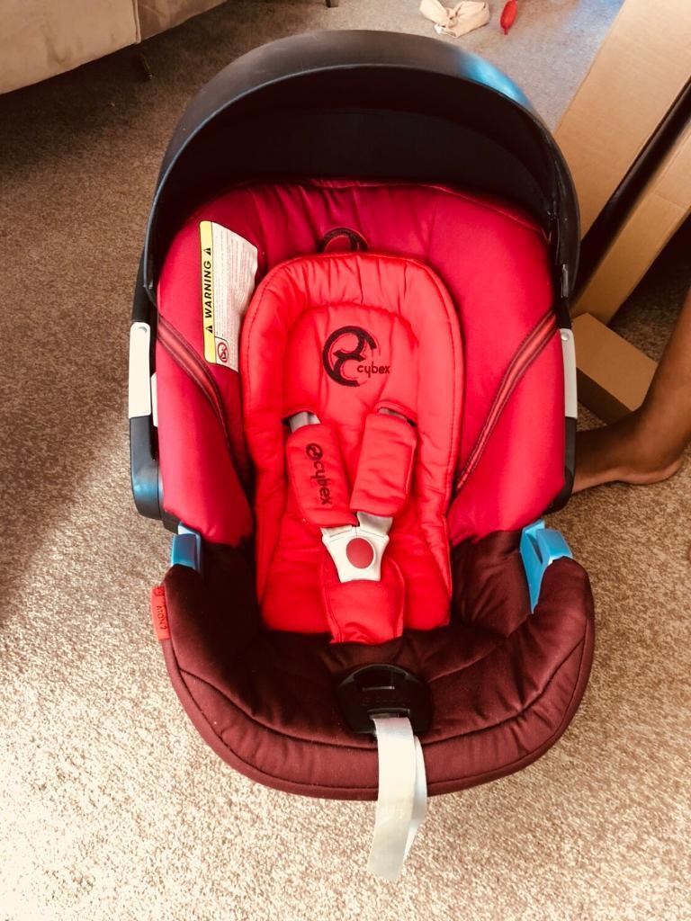 Cybex Aton 2 Poppy Red Car Seat