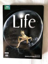 LIFE-DAVID ATTENBOROUGH -BBC EARTH DVD