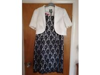 Mother of the Bride dress and accessories size 16