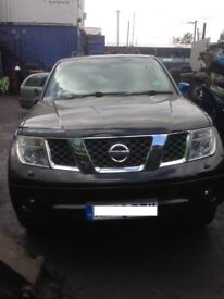 2006 NISSAN NAVARA 2.5 DCi D40 BREAKING FOR PARTS DIFFERENT COLOURS AVAILABLE