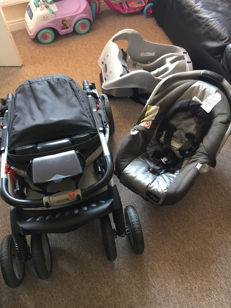 Graco Baby Pram and Car Seat Travel System