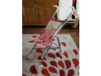 Silver cross dolls pushchair