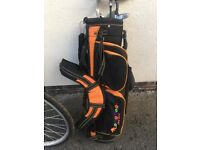 Child's golf clubs