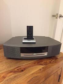 Bose Wave Music System With CD and Iphone/IPod sound dock