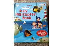 Usborne Pull Back Busy Helicopter Book