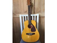 Yamaha 1/2 Size Acoustic Guitar in Very Good Condition