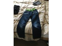 No fear jeans age 9-10 worn once