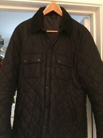 Men's Blue Barbour Quilted Jacket
