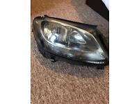 Mercedes 2016 headlight