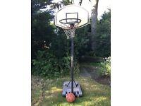 Basketball Net and Basketball
